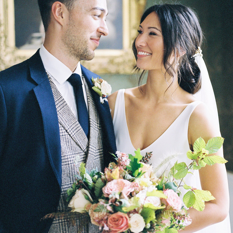 Autumn Splendor for Sai and Jack at St Giles House