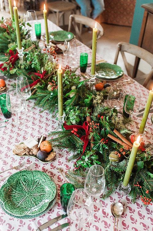 Very Merry Berry Christmas Garland | Dorset Flowers