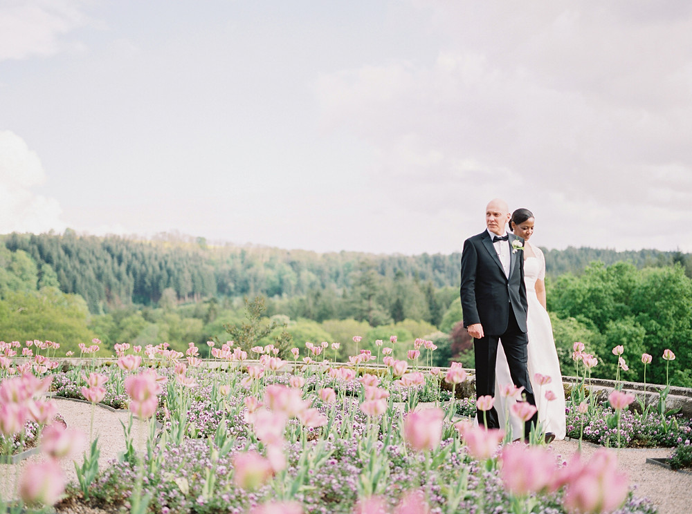 Beautiful Real Wedding Couple - Spring Time Wedding