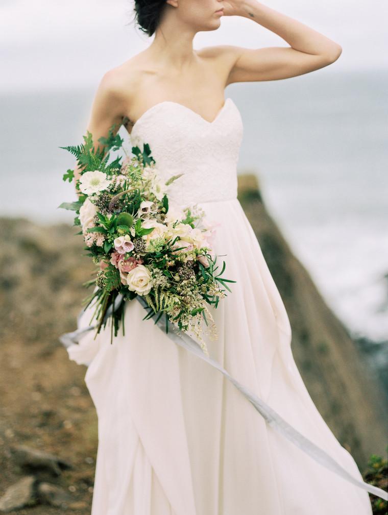 Wild Coastal Bridal Vibes