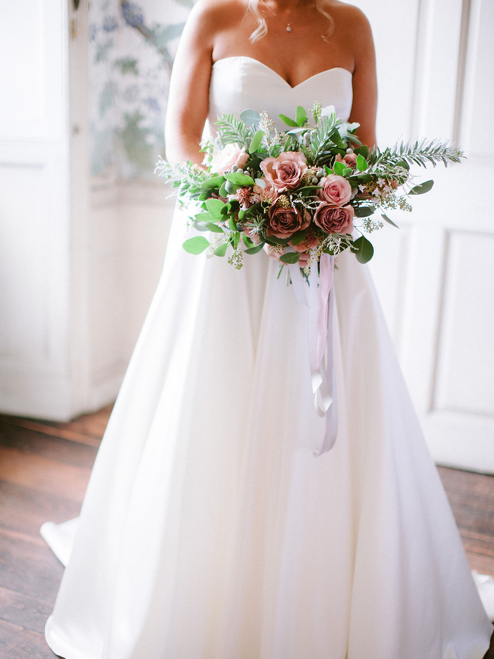 Bridal Bouquet - Dorset Wedding Florist - Martha and the Meadow