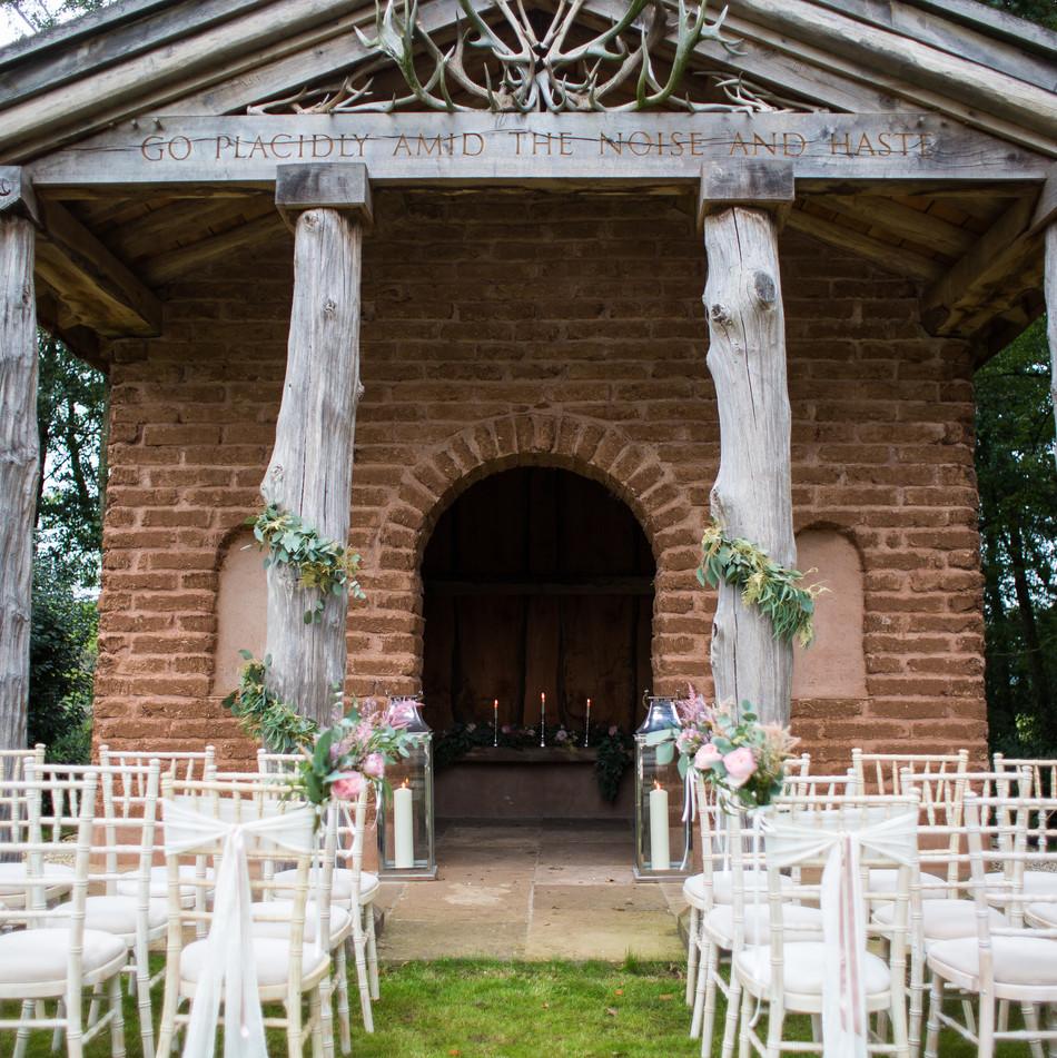 Wedding Ceremony Florals