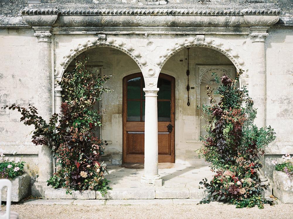 Wedding Floral Installation - Dorset Wedding Venue