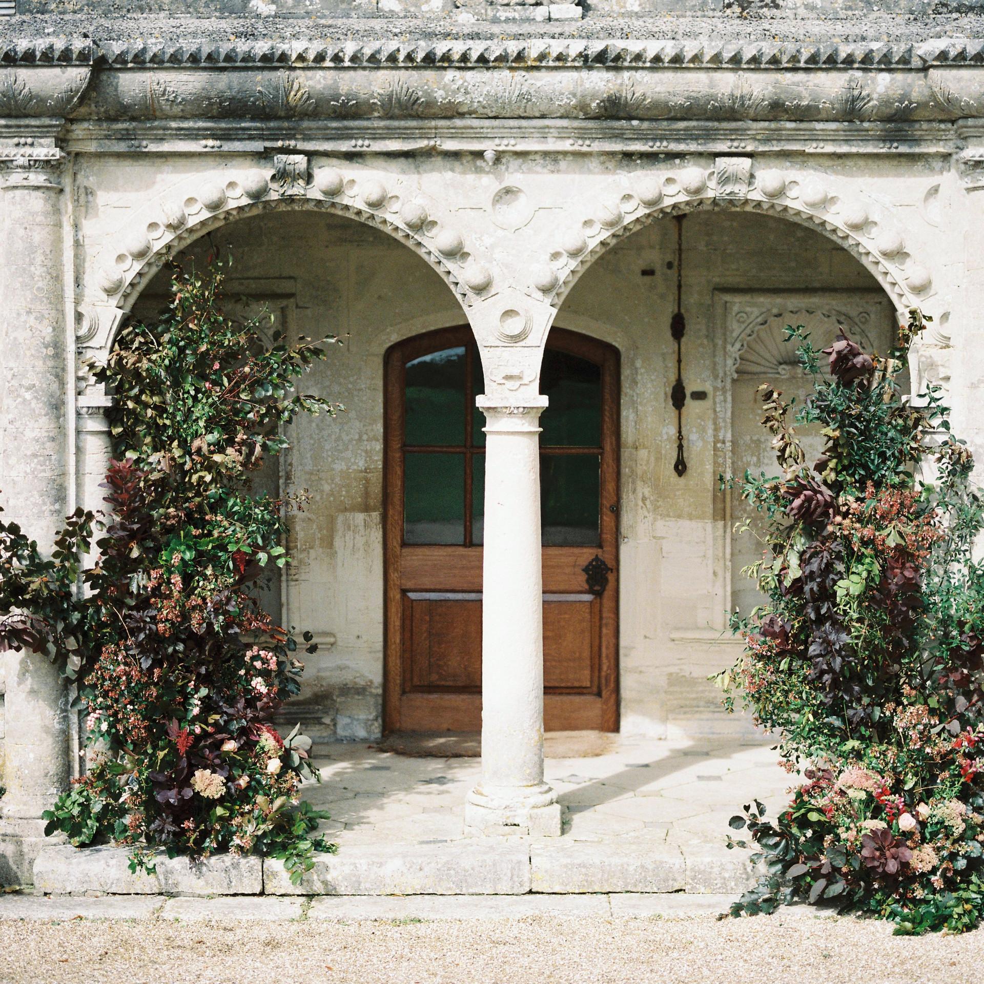 Autumn Floral Wedding Instalation.