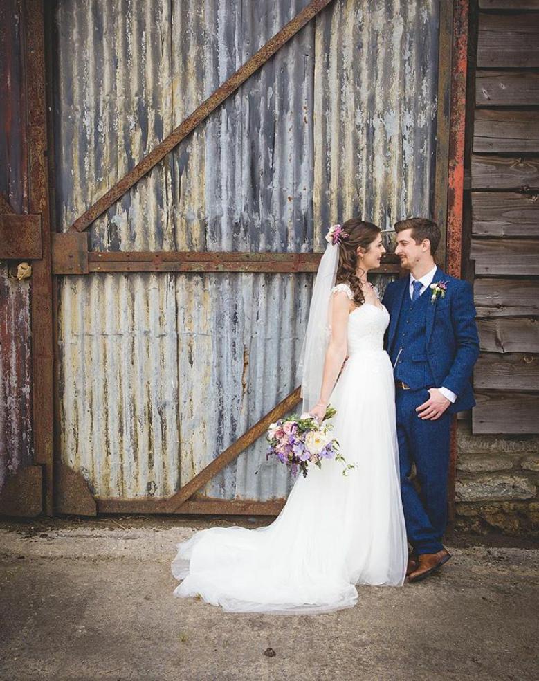 Holly and Tom's Dorset Wedding - Stockbridge Barn