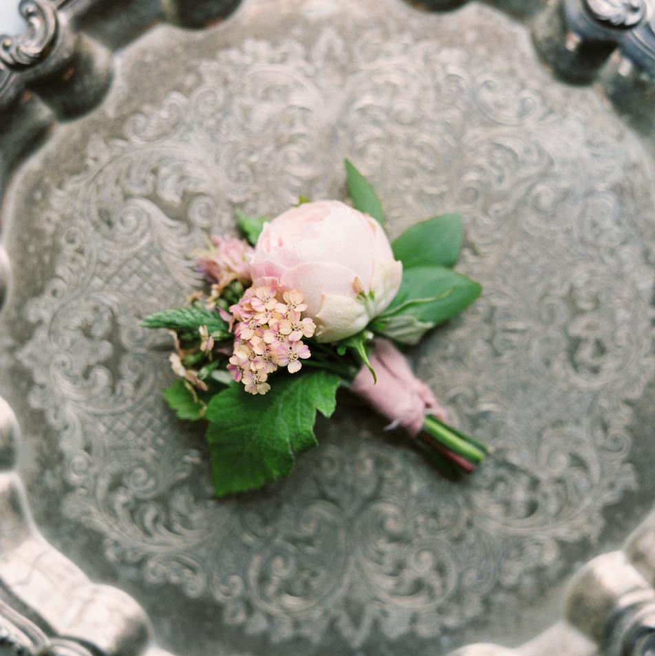 Summer Wedding Buttonhole
