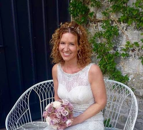 Real Bride at High Melcombe Manor. Nicola