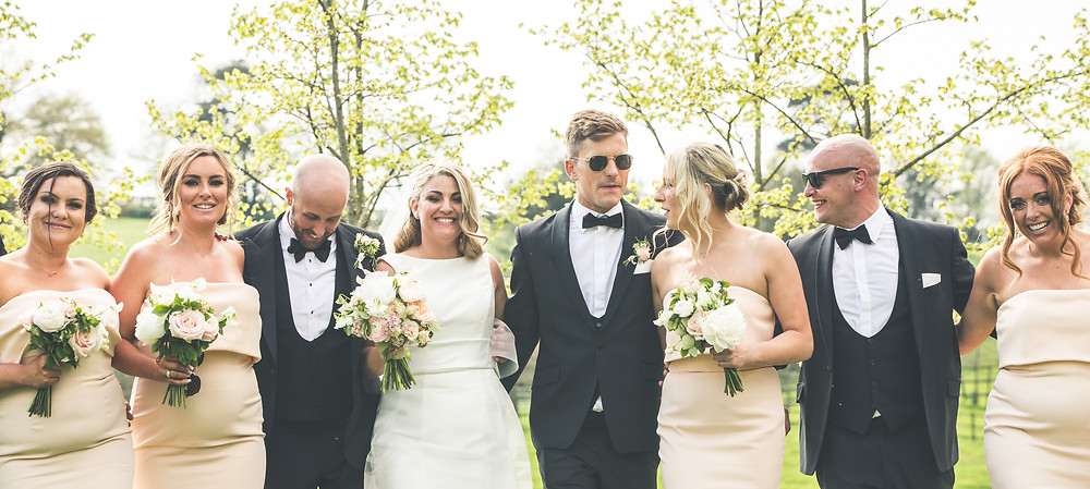 Bridal Party - Spring Flowers