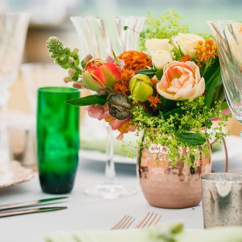 Spring Wedding Tablescape