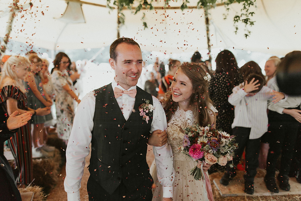 Hannah and Yann Dorset Wedding