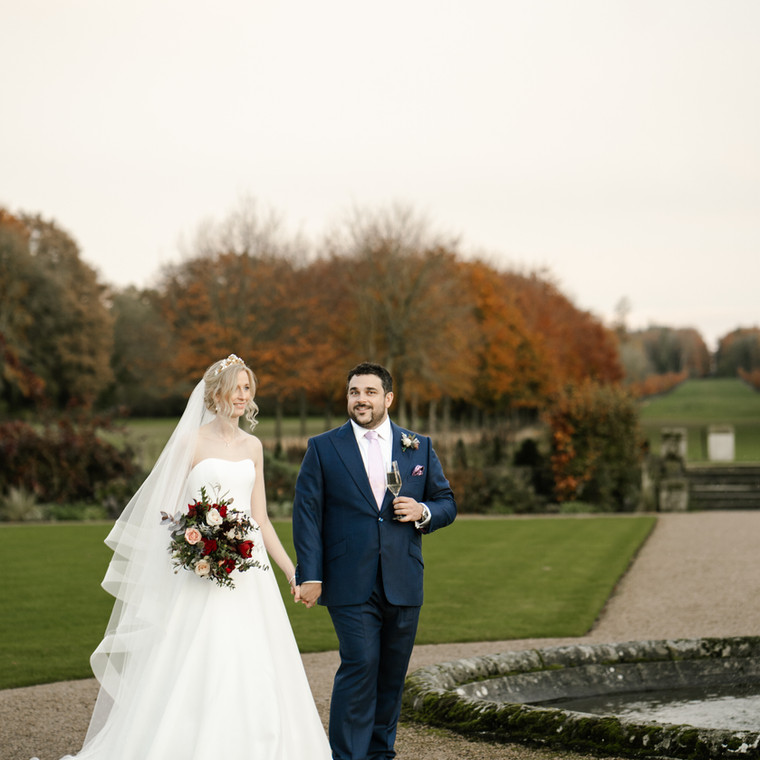 Rich Winter Lux for Lucy and Mark at St Giles House