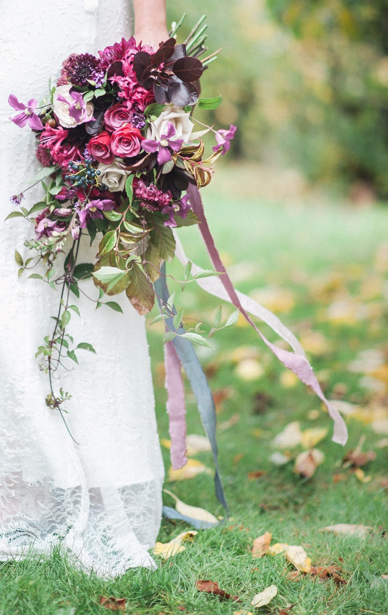 Martha and the Meadow Bridal Bouquet