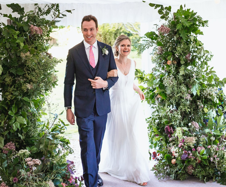 Delicate Woodland Romance for Charlotte and Tom.