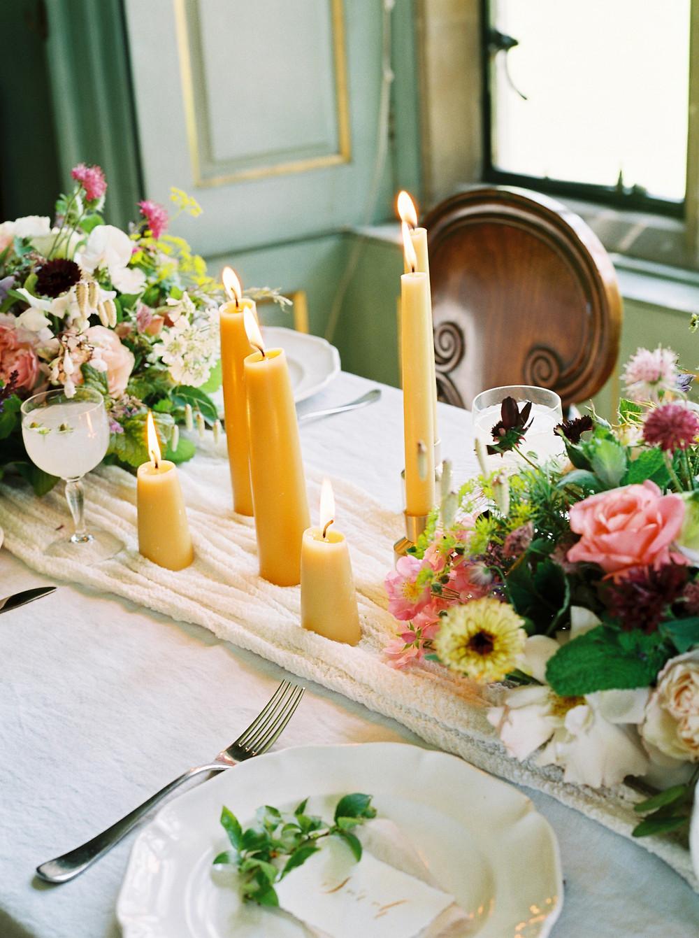 British Flowers used for Dorset Wedding
