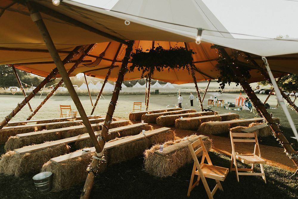Tipi Wedding - Dorset