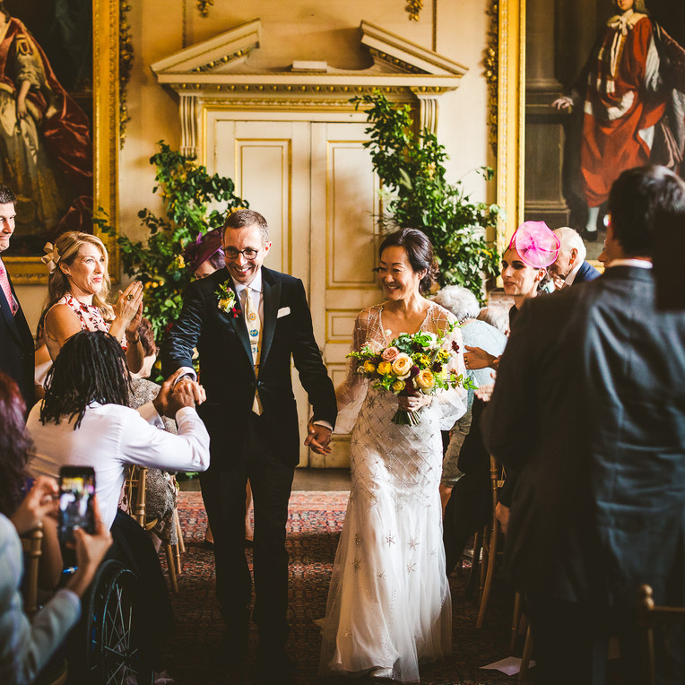Autumn Warmth for Susan and Dan at St Giles House