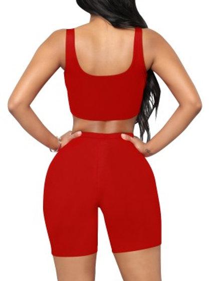 Demi Girl Shorts Set