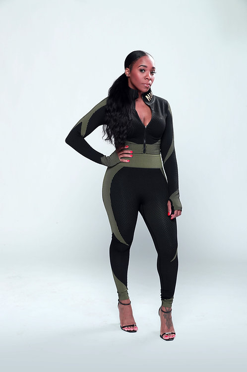 Army Girl Strong Set- Now Available in XL