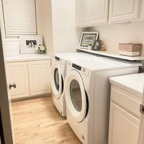 Episode 055: Laundry Room Organization