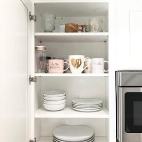 Episode 032: Kitchen Cabinet Organization