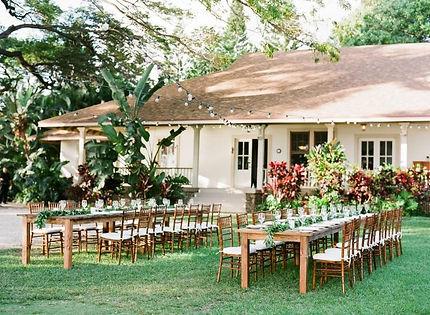 Reception Set-Up Tom Wedding