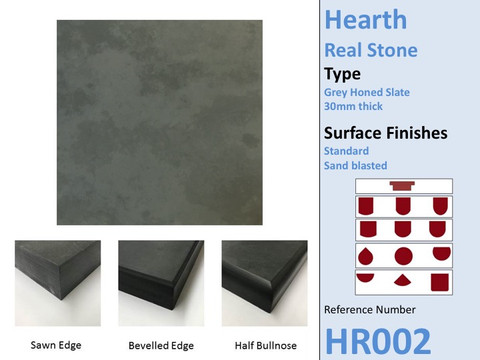 Grey Honed Slate