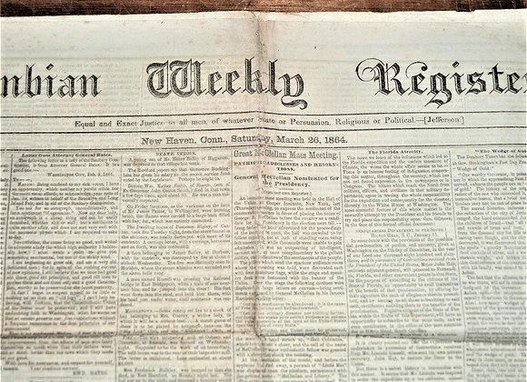 The Florida Atrocity - Columbian Weekly Register - 3/26/1864