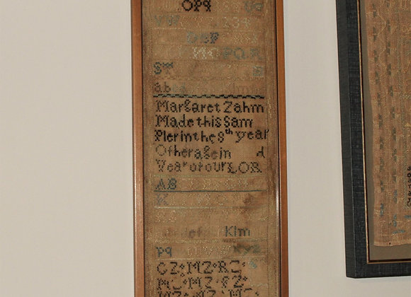Early 19th Century American Sampler from Lancaster County, PA