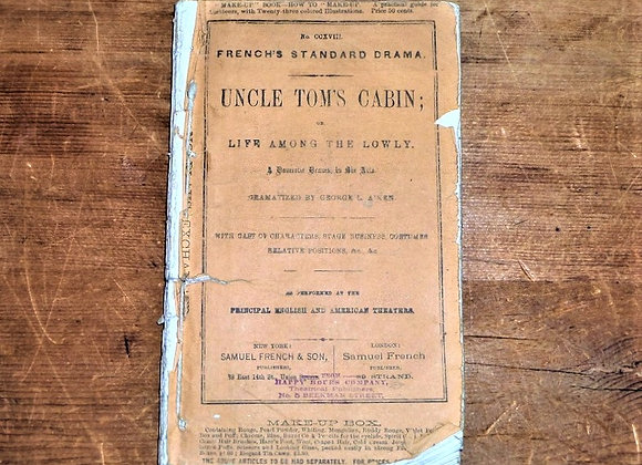 1879 Uncle Tom's Cabin Playbook with Director's Notes