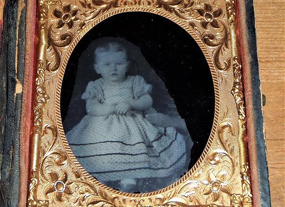 Baby Ambrotype - Mid 19th Century Photo