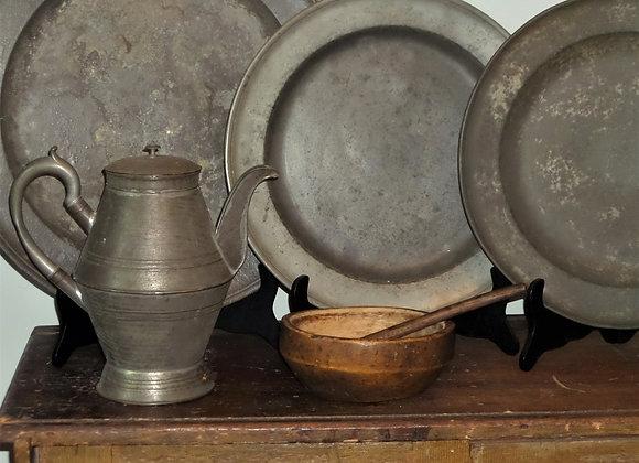 18th Century Pottage Bowl with Amazing Patina!