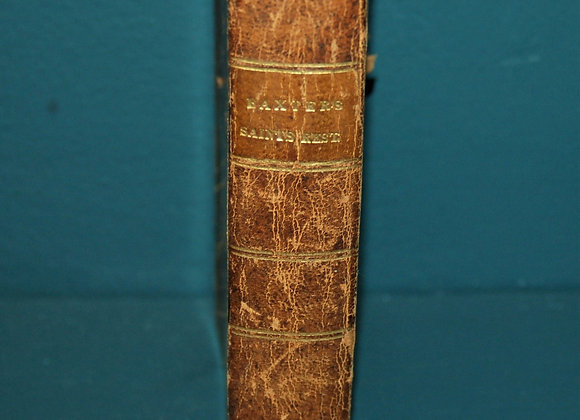 "19th C ""The Saints' Everlasting Rest"" Abigail Y Merrill's Copy - Maine"