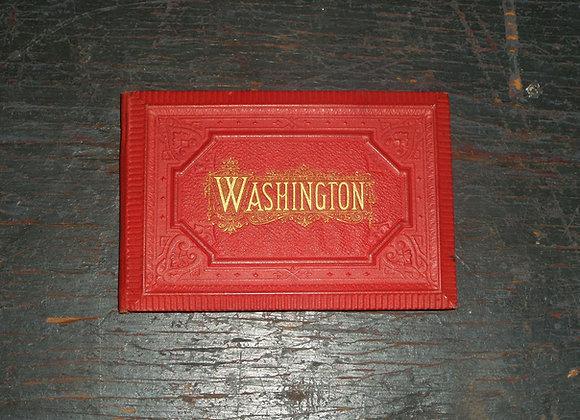 1880's Washington Panorama Fold Out Book