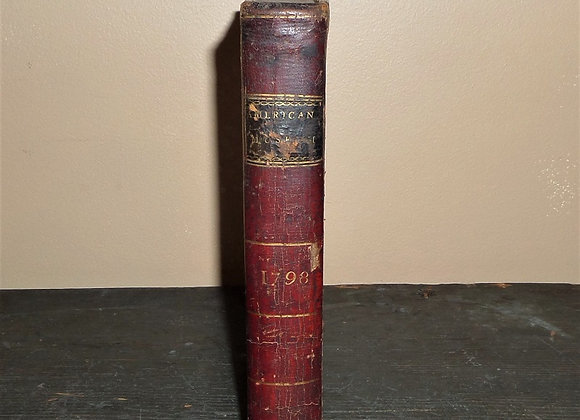VERY RARE 1799 Carey's American Museum printed for Matthew Carey in Lancaster PA