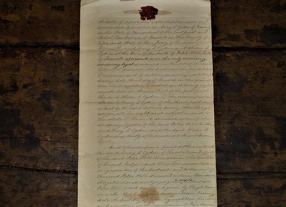 1830 CT/NJ Ogden Family Trust Agreement