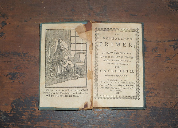 1814 New-England Primer -Original and RARE