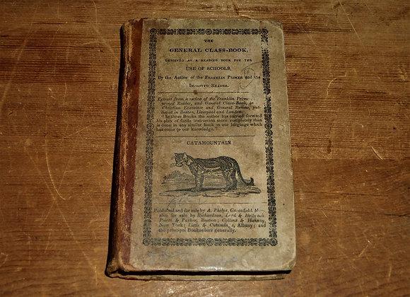 1830 Child's Schoolbook - General Class Book