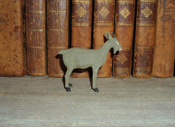 Antique German Composition Putz Goat