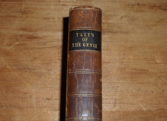 1824 Tales of the Genii - Printed in London - with Signatures