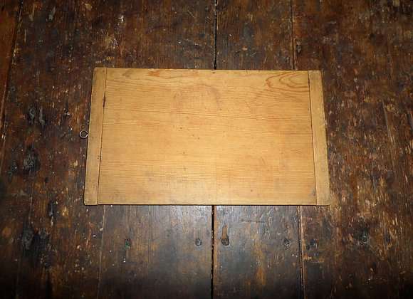 Small Early Cutting Board with Breadboard Ends