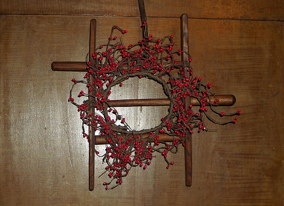 An Antique Yarn Winder and a Great Christmas Decoration!