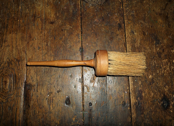 Mid 19th Century Shaker Paint Brush with Red Paint Dash