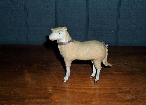 Antique German Sheep with Cloth Ears