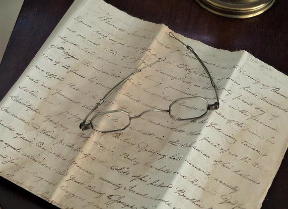 Circa 1800 Antique Telescoping Glasses