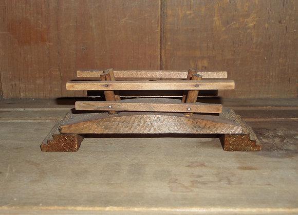 Antique Wood Bridges for Putz Displays