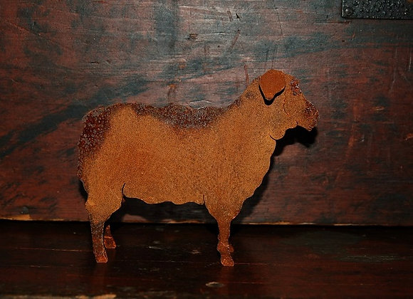 Primitive Rusty Sheep - Small Size