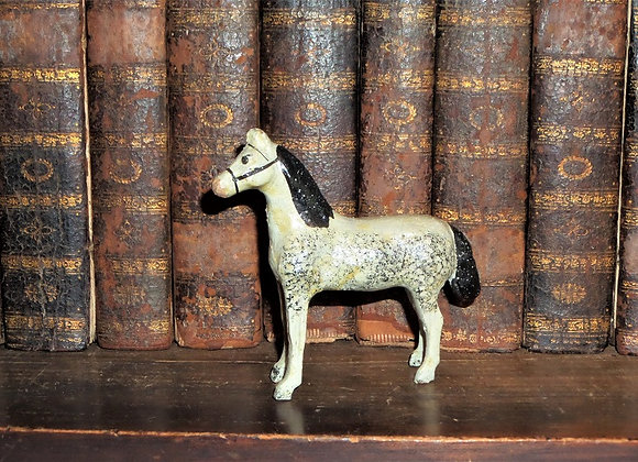 Antique Large Putz Horse from the Erzgebirge Region of Germany