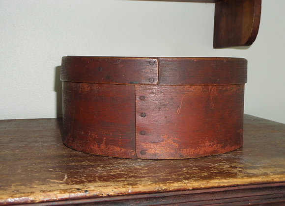 Pantry Box in Original Red Paint