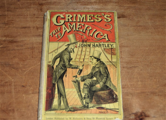 1877 Grimes's Trip to America. Ten Letters from Sammywell to John Jones Smith