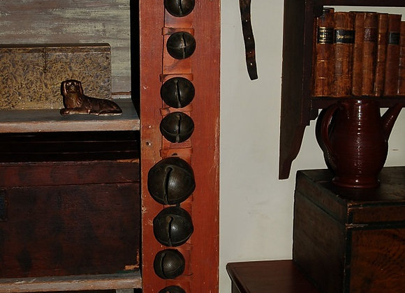 18th Century New England Graduated Crotal 'Bells'